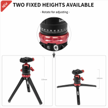 SMALLRIG ALUMINUM TABLETOP MINI TRIPOD 3033