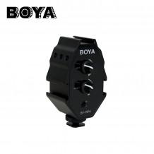 BOYA BY-MP4 便攜式機頂混音器