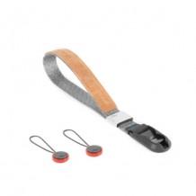 Peak Design Cuff  (Ash/Charcoal) 手繩套裝