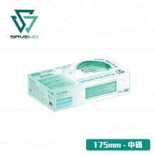 SAVEWO PremiumMask 救世超卓口罩 175mm*95mm 中碼 綠色版 (30片/盒 ,非獨立包裝)