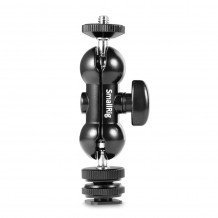 SmallRig Double End Ball Head with Cold Shoe and Thumb Screw 1135